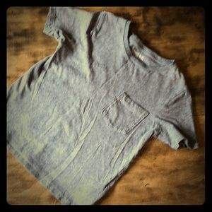 Gap Kids Gray T-shirt with Pocket.